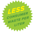 Less consumer waste